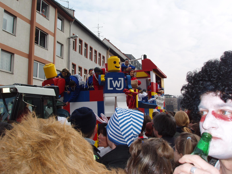 LEGO float